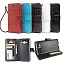Buy Samsung Galaxy Case Wallet / Card Holder Stand Flip Embossed Full Body Geometric Pattern PU Leather J3