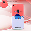 dpt® Whale Pattern TPU Soft Back Cover for iPhone 5C