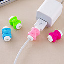 Bowknot Design Protector for iPhone Cable(1 PCS Random Color)