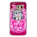 Buy Samsung Galaxy Case Pattern Back Cover Cat TPU S7 / S6 edge