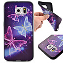 Buy Samsung Galaxy S7 Edge Pattern Case Back Cover Butterfly TPU Active / plus edge S6