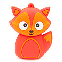 Buy ZPK37 8GB Red Fox Cartoon USB 2.0 Flash Memory Drive U Stick