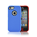 Colorful Robots Pattern PC+TPU 2 1 Full Body Case Crash Proof iPhone 5C(Assorted Colors)