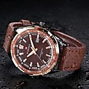 Buy reloj hombre NAVIFORCE Quartz Watch Casual Men's Mens Luxury Brand Watches Leather Military Campaign Dial Wrist Cool