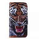 Buy Tiger Painted PU Phone Case iphone5SE