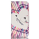 Buy Finger Pencil Love Painted PU Phone Case iphone5SE