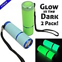 Buy Lights LED Flashlights/Torch 100 Lumens 1 Mode AAA Waterproof Small Size Pocket Camping/Hiking/Caving Everyday Use Aluminum alloy