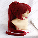 Buy Capless Red Cosplay Wig Super Long Straight Synthetic Hair Wigs Animated Party Ponytail