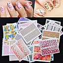 Tegneserie / Smuk / Punk / Bryllup-Finger-3D Negle Stickers-10*7.7*3-50