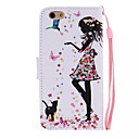 Buy Maiden Pattern PU Leather Material Phone Case iPhone 6/iPhone 6S