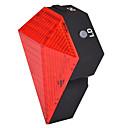 fjqxz 8 3 mod kırmızı şarj edilebilir elmas şekil bisiklet lazer stop lambasını açtı