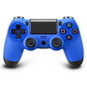 Wireless Bluetooth Gamepad Game Controller for PS4 (Blue Color, Factory-OEM)