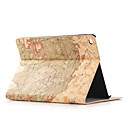 Buy Retro style Map Prints PU leather Flip Hard Cover Tablet Case Apple iPad Air Smart Stand Protective