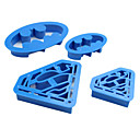 Buy Batman Superman Super Hero Cookie Cutter Sugar Craft Cake Decoration Cutters Mold,Set 4