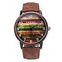 Buy FEIFAN Watch relojes mujer 2016 men watch color Wood canvas Waterproof quartz montre homme Wrist Cool Unique