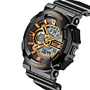 Buy Multifunction Dual Display Outdoor Waterproof Electronic Cold Light LED Watches Shockproof