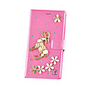 Buy Huawei Case / P9 Lite Wallet Card Holder Rhinestone Full Body 3D Cartoon Hard PU Leather HuaweiHuawei