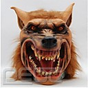 Buy Halloween Latex Mask Creepy Wolf Head Animal Cosplay Costume Adult Party Masks Drop