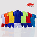 Buy Men's Soccer Shirt+Shorts Clothing Sets/Suits Breathable Spring Summer Fall/Autumn Classic Fashion 100% Polyester Football/SoccerYellow