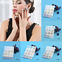 Buy Hollow Laser Rose Flower Pattern Nail Manicures Art Polish Painting Tool Template Decal Sticker Stencil Accessories