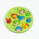 Buy Cartoon Animal Face Silicone Chocolate Mold Fondant Cupcake Decoration Sugarcraft Tools Polymer Clay Candy Making