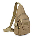Buy Hamburger Chest Pack Outdoor Military Molle Man Tactical Nylon Sports One Shoulder Bag Camping Small Messenger Bags