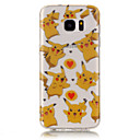 Buy Samsung Galaxy S7 Edge Transparent / Pattern Case Back Cover Cartoon Soft TPU edge S6 S5