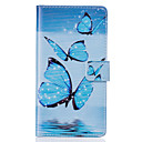Buy PU Leather Material Blue Butterfly Pattern Phone Case Huawei P9 Lite/P9/P8 Lite