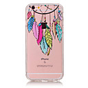 Buy TPU Material Campanula Pattern Painted Relief Phone Case iPhone 6s Plus / 6 Plus/6S/6/SE 5s 5