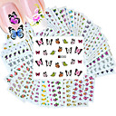 Buy 5Different Styles Fashion Flowers pattern Nail Art Water Transfer Stickers