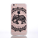 Buy TPU Material Elephant Black Pattern Soft Shell Phone iPhone 7 Plus/7/6s Plus / 6 Plus/6S/6/SE 5s/5/5C