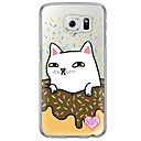 Buy Donuts Cat Pattern Soft Ultra-thin TPU Back Cover Samsung GalaxyS7 edge S7 S6 plus S5 S4