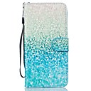 Buy Color Gradient PU Leather Wallet Case Cover Card Slots Stand Iphone7 7Plus