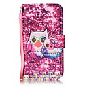 Buy Owl Painted PU Leather Material Card Holder Phone Case iPhone 7 7plus 6S 6plus SE 5S