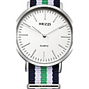 Buy Unisex Fashion Watch Quartz Japanese / Leather Band Casual Red Green Brand