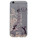 Buy iPhone 7 7plus 6S 6plus SE 5S 5 Eiffel Tower Pattern Painted TPU Material Phone Case