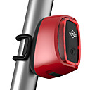 Buy LED Bike Lights Rear Cycling Remote Control Rechargeable Lithium Battery USB Smart Vibration Sensor IPX6 Waterproof Bicycle Taillight 7 Modes