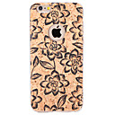 Buy Embossed / Pattern Case Back Cover Flower Soft TPU Apple iPhone 6s Plus/6 Plus 6s/6 SE/5s/5