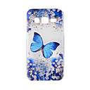 Buy Samsung Galaxy J7 J5 J3 J1 J710 J510 J310 J120 ON5(2016) ON7(2016) G530 Case Cover Blue Butterfly Painted Pattern TPU Material Phone