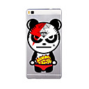 Buy Huawei P9 P8 Lite 8 Translucent Case Back Cover Cartoon Soft TPU Plus P7 Max