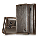 Buy CaseMe Luxury Genuine Leather Wallet Card Slot Cover Flip Case Stand Samsung Galaxy Note 4/Note 5/Note Edge