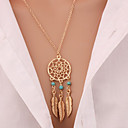 Buy Hot Fashion Charm Round Necklaces & Pendants Statement Gold Chain Necklace Multi Layer Jewelry Women Girls