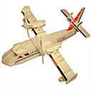 Buy Jigsaw Puzzles Wooden Building Blocks DIY Toys Amphibious Bombers 1 Wood Ivory Model & Toy