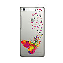 Buy Huawei Case / P8 Ultra-thin Back Cover Butterfly Soft TPU P7