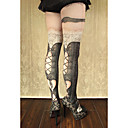 Buy Socks/Stockings Gothic Lolita Sweet Classic/Traditional Punk LolitaSee Vintage Inspired Sexy Victorian