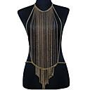 Buy Body Jewelry Chain Alloy Fashion Casual Bohemia Tassels Unique Necklace/pendant Bikini Harness Women