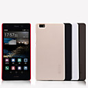 Buy Huawei Case / P8 Frosted Back Cover Solid Color Hard PC