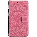 Buy Sony Xperia E5 X XA XP PU Leather Material Sun Flower Pattern Embossed Phone Case M5 M4 M2 Z5 Z4 Z3 Mini