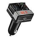 Buy Bluetooth FM Transmitter Handsfree Car Kit USB Charger Port