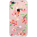 Buy Red Flower Pattern Case Back Cover Soft TPU Apple iPhone 7 Plus 6s 6 iphone 5s 5 iphone4